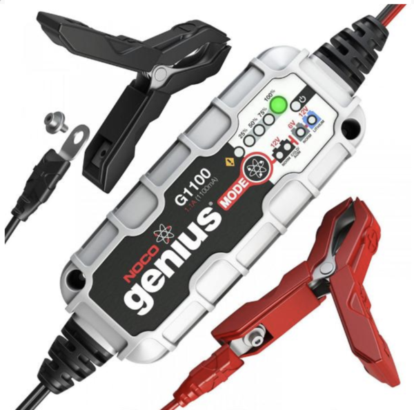 NOCO GENIUS G1100 MOTORCYCLE BATTERY CHARGER AUSTRALIA