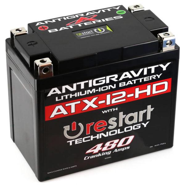 ANTIGRAVITY ATX12-HD RESTART HEAVY DUTY LITHIUM MOTORCYCLE BATTERY AUSTRALIA