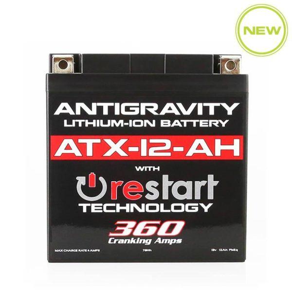 ANTIGRAVITY ATX-12-AH WITH RESTART TECHNOLOGY 360 CRANKIN AMPS MOTORCYCLE BATTERY AUSTRALIA