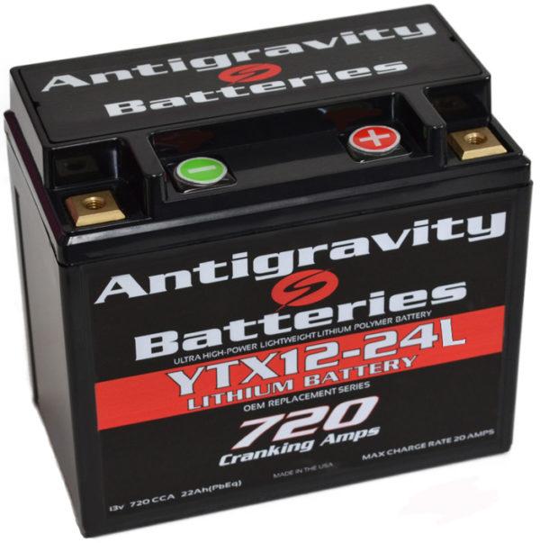 ANTIGRAVITY YTX12 720 CCA ANTIGRAVITY LITHIUM BATTERY + RIGHT* MOTORCYCLE BATTERY AUSTRALIA