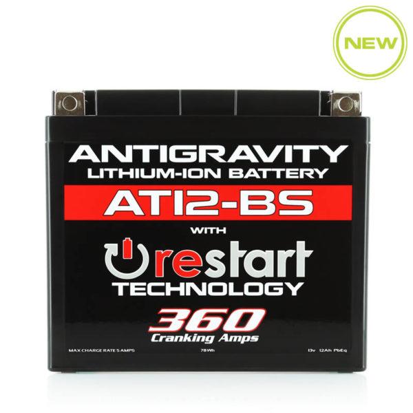 ANTIGRAVITY AT12-BS RESTART LITHIUM MOTORCYCLE BATTERY AUSTRALIA