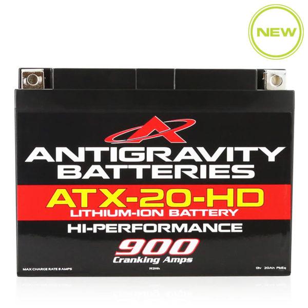 ANTIGRAVITY ATX-20-HD HEAVY DUTY LITHIUM MOTORCYCLE BATTERY AUSTRALIA
