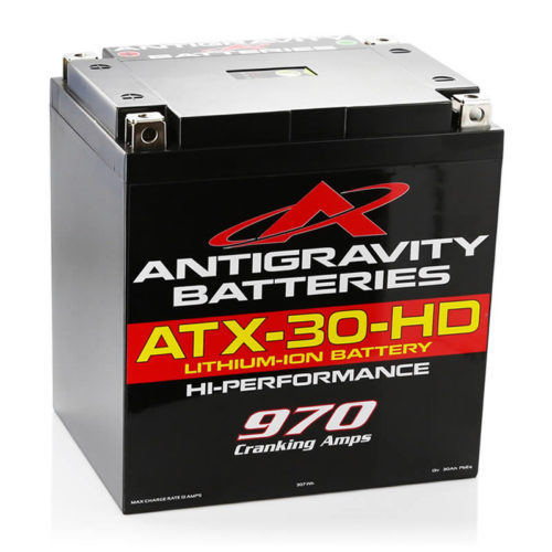 ANTIGRAVITY ATX-30-HD HEAVY DUTY LITHIUM MOTORCYCLE BATTERY AUSTRALIA
