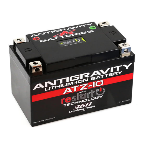 Antigravity Batteries Australia Atz10-Rs Antigravity Atz-10-Rs Lithium Motorsports Battery With Re-