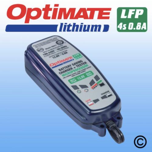 ANTIGRAVITY OPTIMATE LITHIUM 0.8A 12.8V BATTERY CHARGER AUSTRALIA