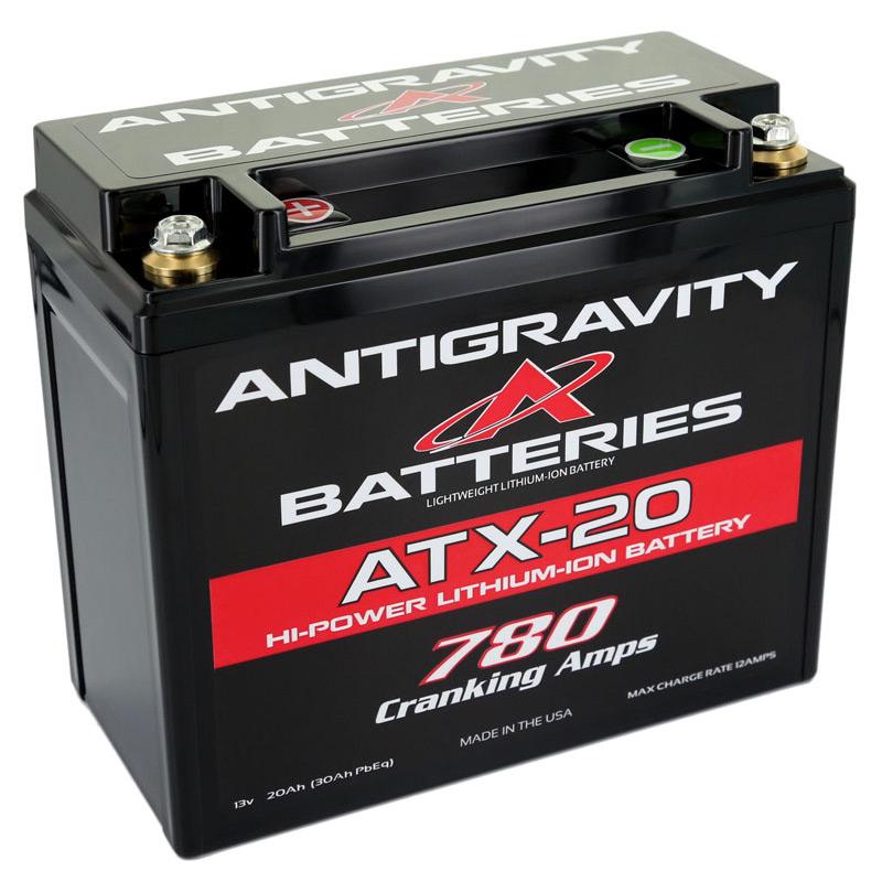 ANTIGRAVITY ATX-20 780 CRANKING AMPS MOTORCYCLE BATTERY AUSTRALIA