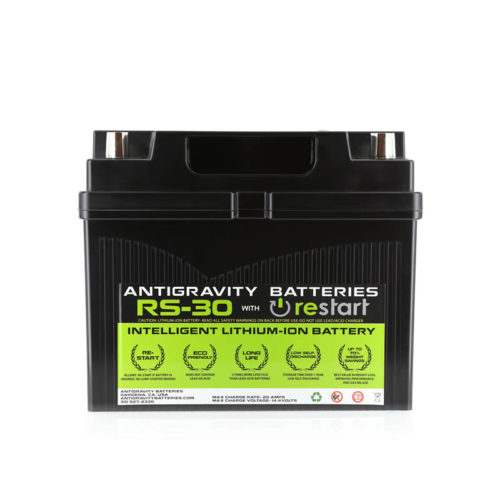 ANTIGRAVITY RS-30 RESTART TECH LITHIUM ION 12V 30AH CAR BATTERY AUSTRALIA