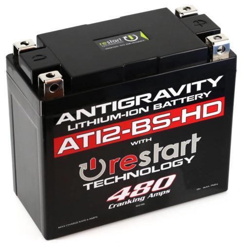 ANTIGRAVITY AT12-BS-HD HEAVY DUTY RESTART LITHIUM MOTORCYCLE BATTERY AUSTRALIA