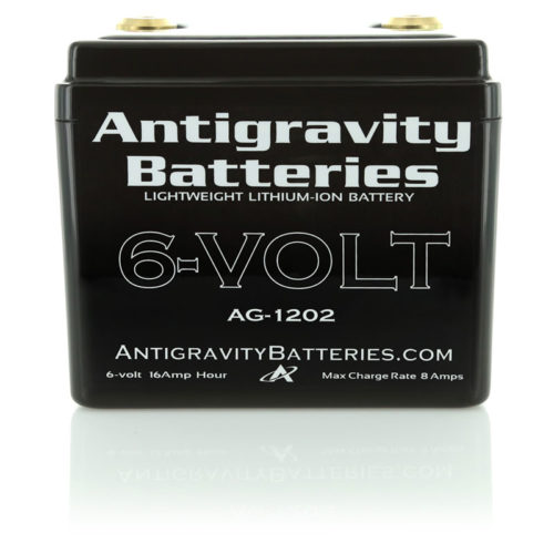 ANTIGRAVITY AG1202 12-CELL 6 VOLT SMALL CASE LITHIUM MOTORCYCLE BATTERY AUSTRALIA