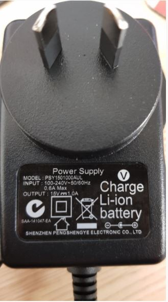 ANTIGRAVITY WALL CHARGER (AUS SPEC) FOR MICRO-START (XP-10/XP-10HD/XP-1 Newer) AUSTRALIA