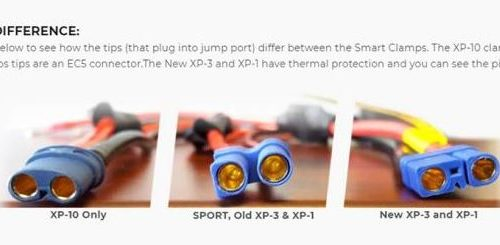ANTIGRAVITY XP-1 (NEW) REPLACEMENT JUMP-START SMART CLAMPS2 MOTORCYCLE CAR BATTERY CHARGER ACCESSORIES AUSTRALIA