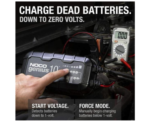 Antigravity Noco Battery Charger 10Amp 612Vlithre Motorcycle Battery Charger Australia