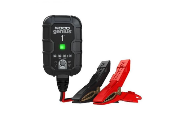 Antigravity NOCO Battery Charger 1Amp 612vLiLead Motorcycle Battery Charger Australia