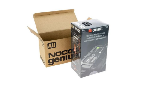 Antigravity Noco Battery Charger 5Amp 612Vlithrep Motorcycle Battery Charger Australia