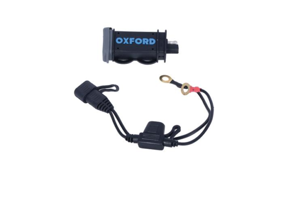 Antigravity OXFORD USB 2.1AMP HIGH POWER CHARGING KIT Motorcycle Battery Charger Australia