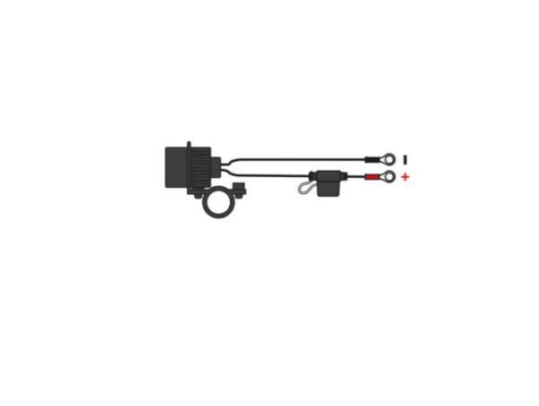 Antigravity OXFORD USB DUAL SOCKET – HBAR MOUNT Motorcycle Battery Charger Australia
