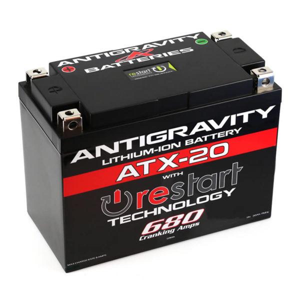 Antigravity Batteries Australia Atx-20_0000_Atx-20-Rs Lithium Motorsports Battery With Re-Start