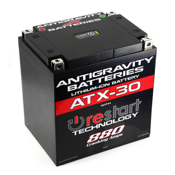 Antigravity Batteries Australia Atx30_0002_Atx-30-Rs Lithium Motorsports Battery With Re-Start