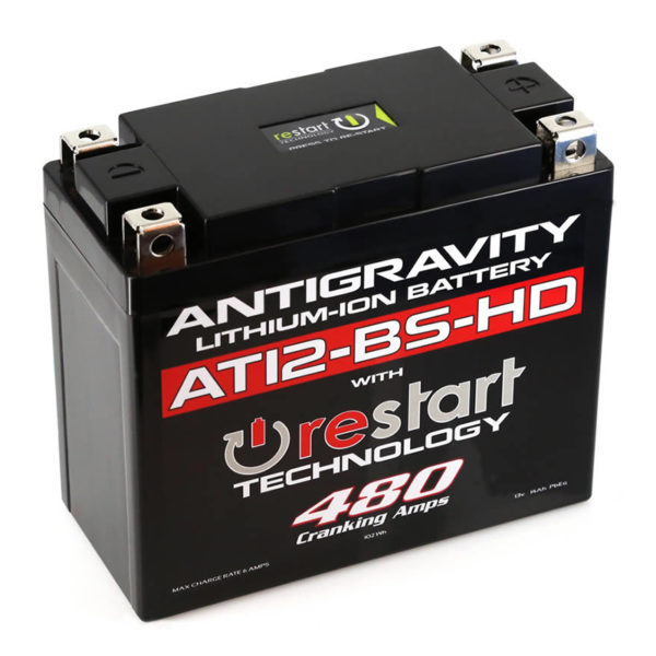 Antigravity Batteries Australia Antigravity Restart At12-Bs-Hd_0002_At12Bs-Hd-Rs Lithium Motorsports Battery With Re-Start