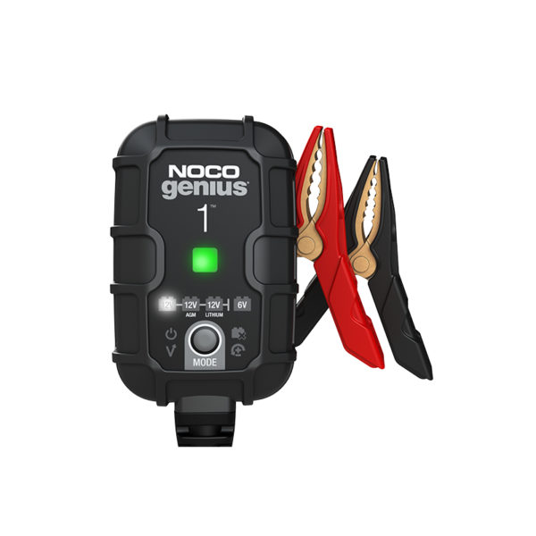 Noco Chargers Australia Lithium Battery Cgarger_0002_Genius1-1A-Battery-Charger-And-Maintainer-For-Motorcycles