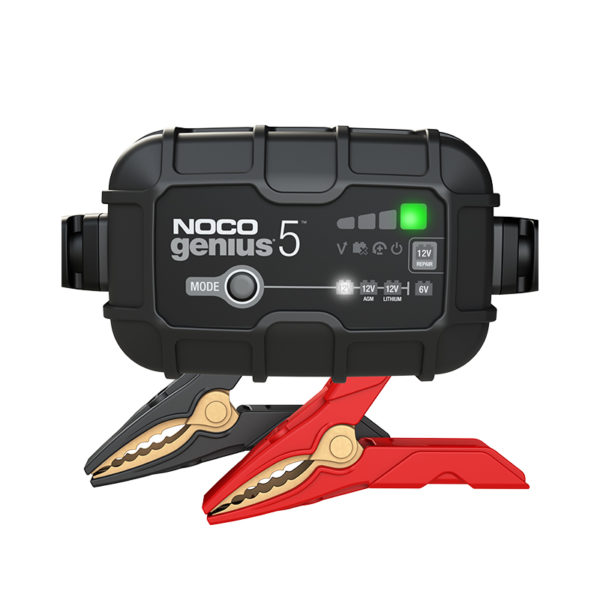 Antigravity Batteries Australia Nooc Chargers Australia Lithium Battery Cgarger 0004 Genius5 Front Noco Genius 5A Battery Maintainer For Full Size Vehic