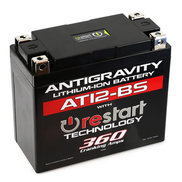 Antigravity Batteries Australia Restart At12-Bs _0001_At12-Bs-Rs Lithium Motorsports Battery With Re-Start