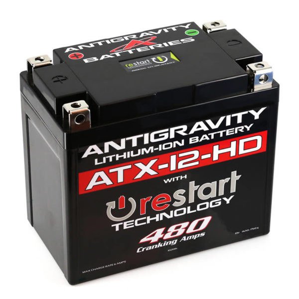 Antigravity Batteries Australia Restart Atx-12-Hd_0000_Atx-12-Hd-Rs Lithium Motorsports Battery With Re-Start